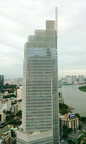 Cao ốc ngân hàng hút khách thuê