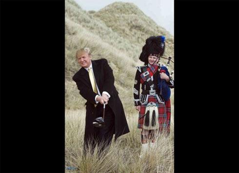 cac giai golf mang ten trump duoc to chuc khap nuoc my va ca o scotland hay caribbea.