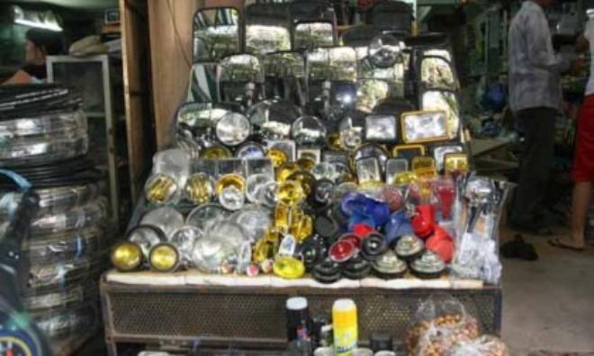 Thị trường phụ tùng ô tô: Nhập nhằng hàng nhái, hàng giả