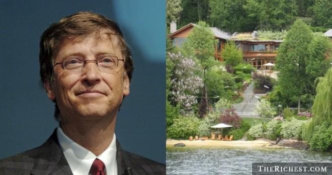 """Khám phá bí ẩn """"siêu biệt thự"""" của Bill Gates"""