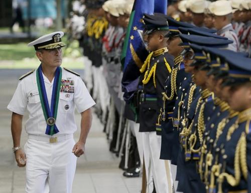 Philippines nhờ Mỹ bảo vệ binh sĩ trên Biển Đông