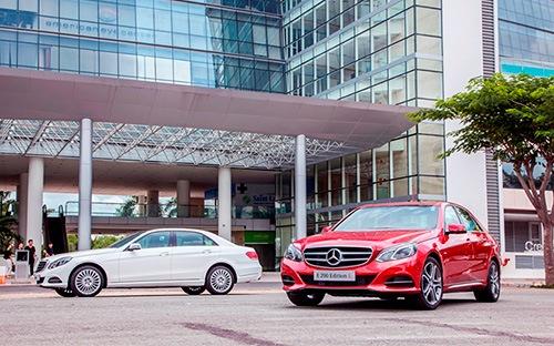 Mercedes E-Class mới giá từ trên 1,9 tỷ đồng