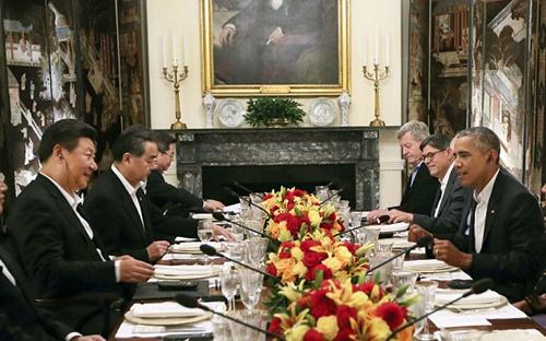 Cuộc đối thoại với ông Tập khiến Obama điều tàu tới Trường Sa