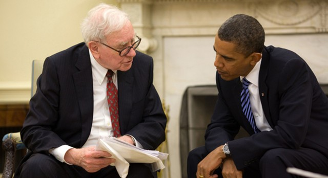 ty phu warren buffett ve tong thong my barack obama