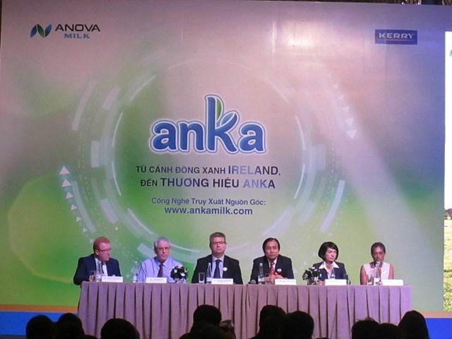 Anka Milk ra mắt sản phẩm sữa có công nghệ truy xuất nguồn gốc