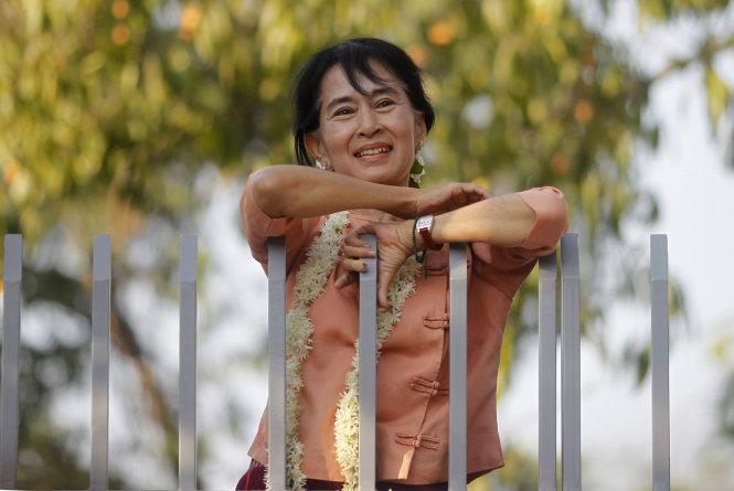 Bà Aung San Suu Kyi khởi động chiến dịch tranh cử