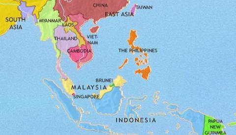 singapore nam trong khu vuc eo bien malacca, trong diem noi bien dong voi an do duong