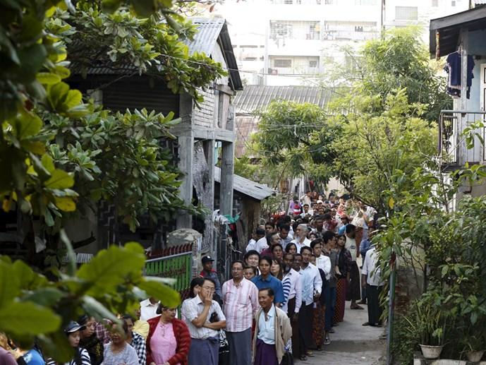 Thách thức hậu bầu cử Myanmar