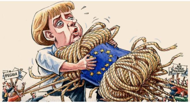 Bloomberg: Mọi thứ vẫn trong vùng kiểm soát của bà Angela Merkel