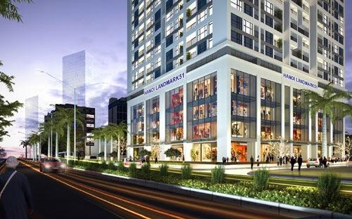 Xây dự án Hanoi LandMark cao 51 tầng tại quận Hà Đông