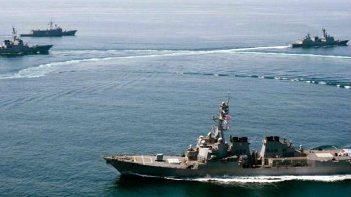 Tàu Mỹ tuần tra quanh Đá Xu Bi, Vành Khăn nhìn từ góc độ pháp lý