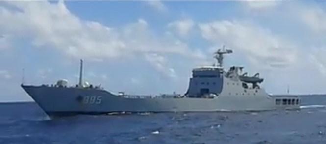 Chuẩn đô đốc Lê Kế Lâm: Gặp nhau thì nói tốt, hết gặp lại cho làm bậy
