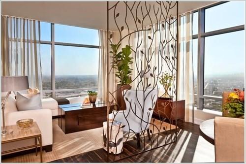 Cách chia phòng thật phong cách và mát mẻ cho chung cư