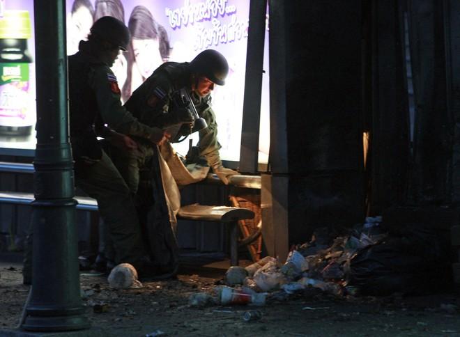 Các vụ nổ bom ở Bangkok 5 năm qua