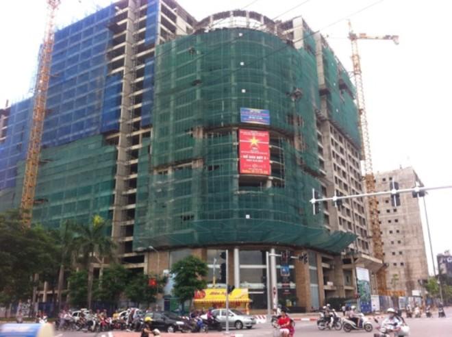 Chung cư đang xây dựng có mức tăng giá cao hơn đã hoàn thiện