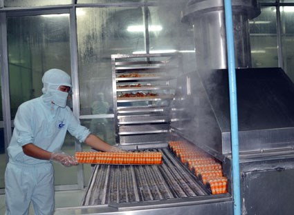 Xuất khẩu surimi sang Nga và Thái Lan tăng mạnh