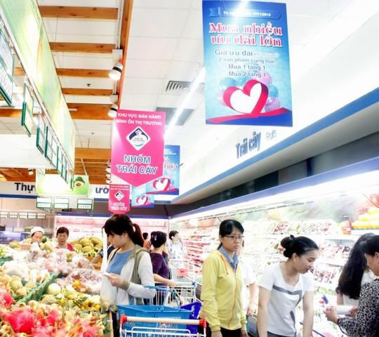 Co.opmart giảm giá đến 50% cho hơn 3.000 mặt hàng