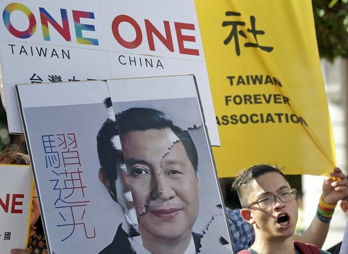 Người Đài Loan 'không hài lòng' với cuộc gặp Tập Cận Bình - Mã Anh Cửu