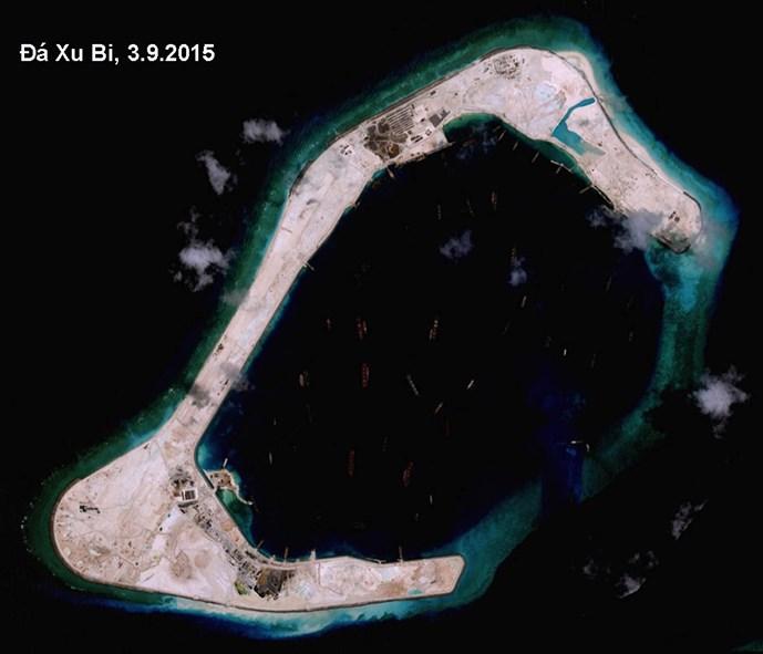 Đảo nhân tạo, chiêu 'giương đông, kích tây' của Trung Quốc
