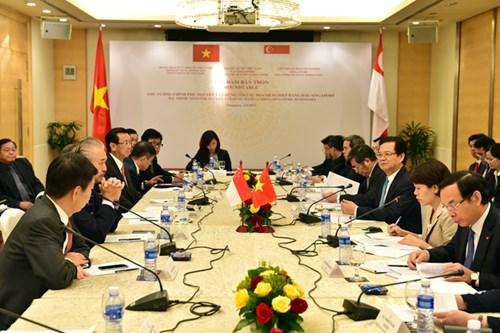 Thủ tướng mời gọi các DN hàng đầu Singapore đầu tư vào Việt Nam