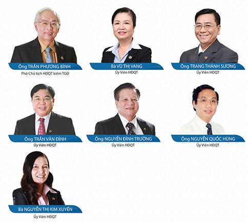 Ai đang ngồi ghế lãnh đạo DongA Bank?