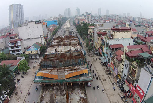 Tổng thầu Trung Quốc chưa ký hợp đồng xây 12 nhà ga tuyến Cát Linh - Hà Đông