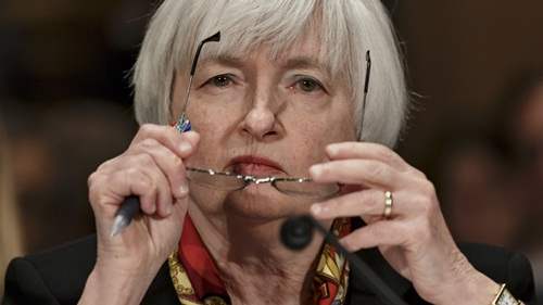 chu tich fed - ba janet yellen se cong bo quyet dinh ve lai suat trong tuan nay. anh: forbes