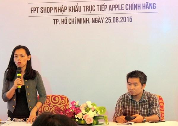 FPT Shop và Thế Giới Di Động được quyền nhập trực tiếp sản phẩm của Apple