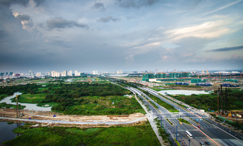 Giá đất Thủ Thiêm trung bình hơn 3.000 USD mỗi m2