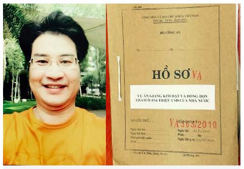 giang kim dat - nguyen quyen truong phong kinh doanh cong ty vinashinlines (anh: bo cong an).