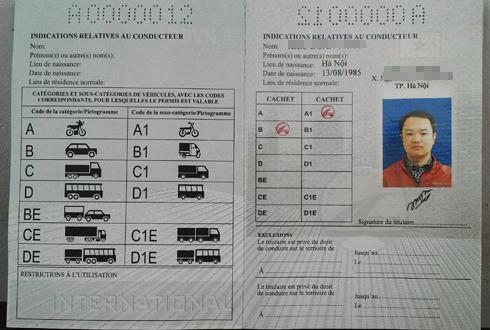 Việt Nam bắt đầu cấp giấy phép lái xe quốc tế