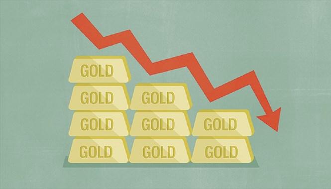 3 nguyên nhân khiến giá vàng thế giới cận đáy 6 năm
