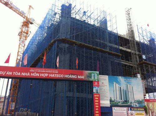 Hà Nội: Cận cảnh loạt dự án đang mở bán rầm rộ tại quận Hoàng Mai (phần 2)