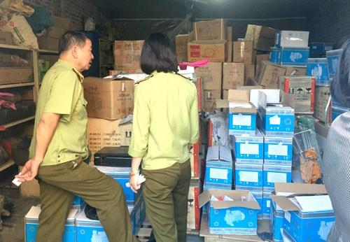 Phát hiện 86.950 vụ vi phạm về buôn lậu, hàng giả