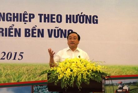 """Tái cơ cấu nông nghiệp: Cần đi từ """"Z đến A"""""""