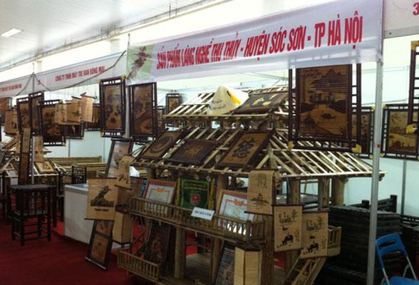 Hội chợ hàng thủ công mỹ nghệ Hà Nội và triển lãm OVOP Việt Nam 2015
