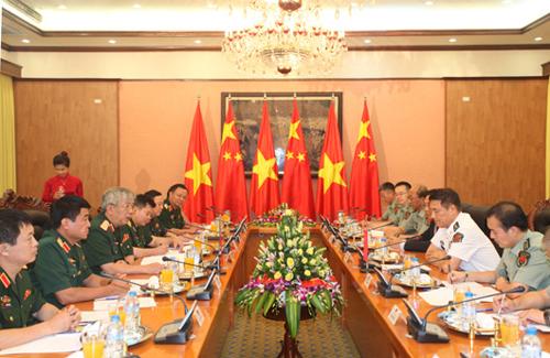 Đối thoại quốc phòng Việt Nam - Trung Quốc lần thứ 5