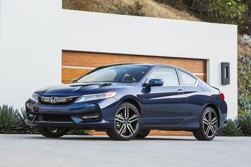 Honda giới thiệu Accord Coupe 2016