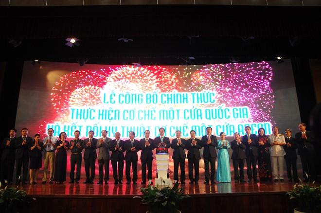 Việt Nam chính thức kết nối Cơ chế một cửa ASEAN