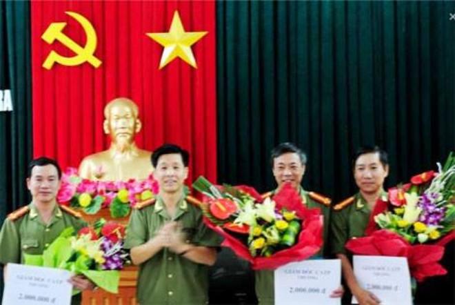 dai ta dao anh tuan, pho giam doc, thu truong co quan andt catp hai phong trao thuong cho luc luong pha an.