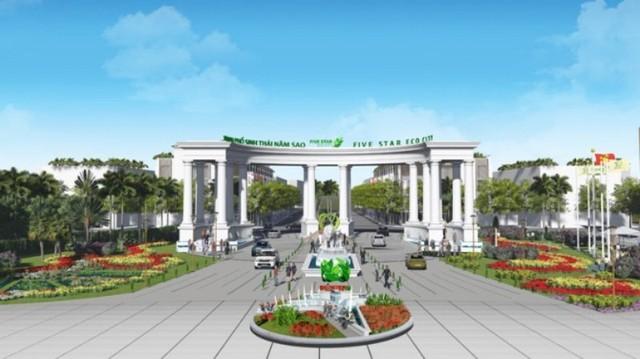 """Tỉnh Long An """"thúc"""" tiến độ dự án khu đô thị của tập đoàn Quốc tế Năm Sao"""