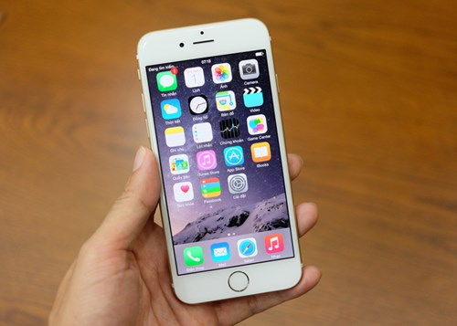 mau dien thoai iphone 6 voi dien tich mat kinh chi la 0,009246 met vuong