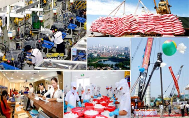 Năm 2016: Đặt mục tiêu tăng trưởng GDP đạt 6,7%