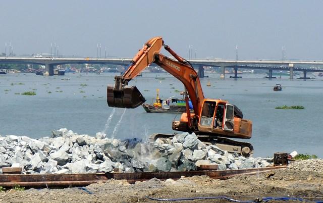 Lấp sông Đồng Nai: Không cần thiết phải đánh giá lại tác động môi trường