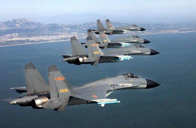 """TQ """"tố"""" Mỹ, Nhật, Đài Loan, Ấn Độ và VN """"đe dọa không phận"""""""