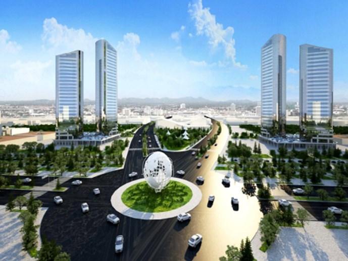 Móng Cái sẽ trở thành một siêu đô thị vùng biên