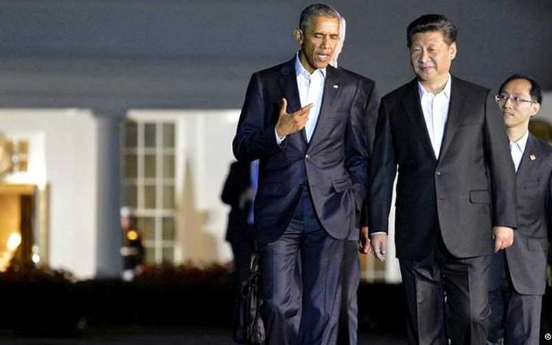 'Đòn nắn gân' Biển Đông của ông Tập trước Obama