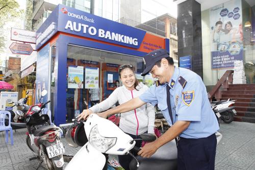 Mô hình ngân hàng tự động