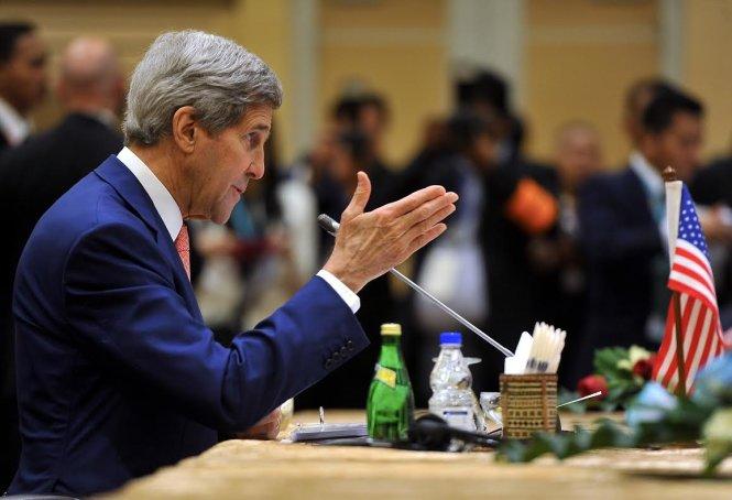 Ngoại trưởng Mỹ kêu gọi giải quyết hòa bình tranh chấp biển Đông