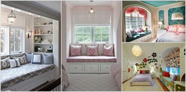 Những ý tưởng thiết kế chỗ ngồi tinh tế cạnh cửa sổ trong căn hộ